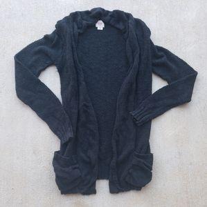 Mossimo Black Knit Cardigan.